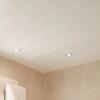 Потолок в ванной – варианты отделки