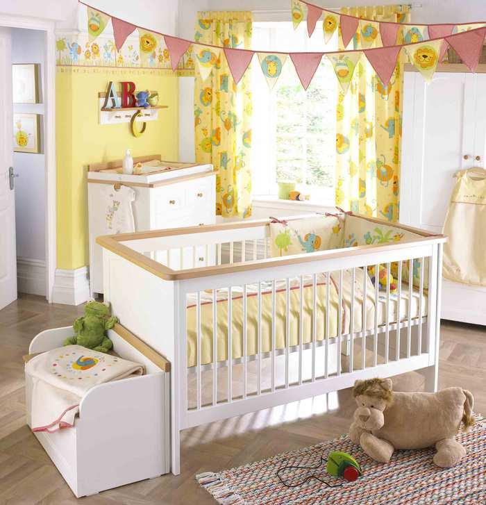 Как обустроить комнату для новорожденного?